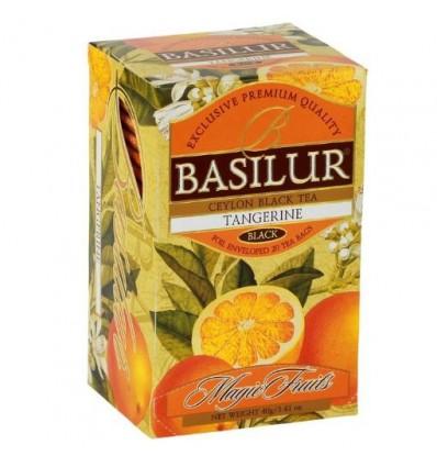 Herbata czarna mandarynka ekspresowa 20 szt - Basilur