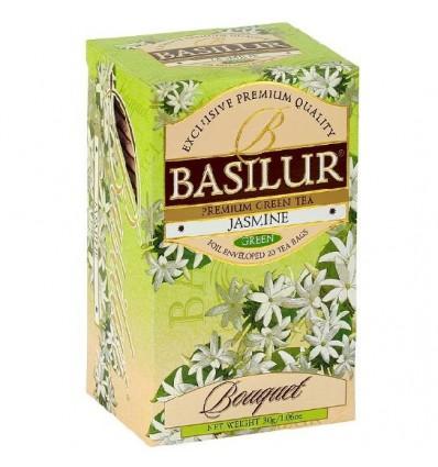 Herbata zielona jaśminowa ekspresowa 20 szt - Basilur