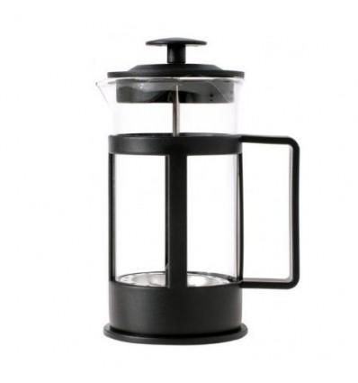 Tłokowy zaparzacz do herbaty, kawy 350 ml - czarny