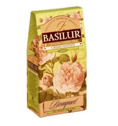 Herbata zielona Cream Fantasy - truskawka, śmietanka Basilur