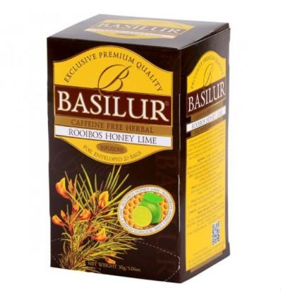 Herbata rooibos, jeżyna, lukrecja, limonka ekspresowa 20 szt - Basilur