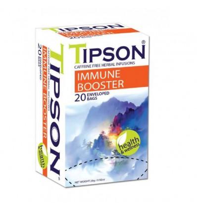 Herbata Tipson, odporność, 20 saszetek ekspresowych