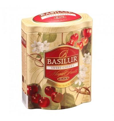 Herbata czarna Sweet cherry, czereśnia, wiśnia, Basilur, puszka 100 g