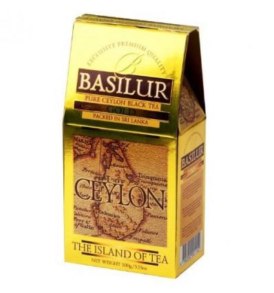 Herbata czarna Gold, łagodna - stożek, 100 g Basilur