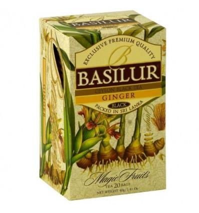 Herbata Basilur czarna imbirowa ekspresowa 20 szt