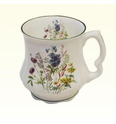 Porcelanowy kubek polne kwiaty400 ml, David Michael
