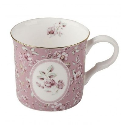 Porcelanowy kubek angielski Pink Oval, Creative Tops