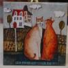 Kafelek, podkładka rude koty - produkt polski