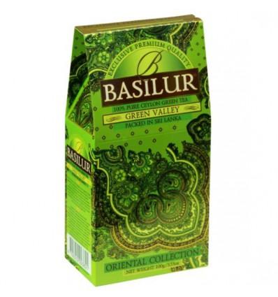 Herbata zielona Green Valley, Basilur, stożek 100 g