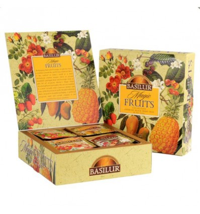 Herbata Magic Fruits, owocowe, Basilur, 40 szt
