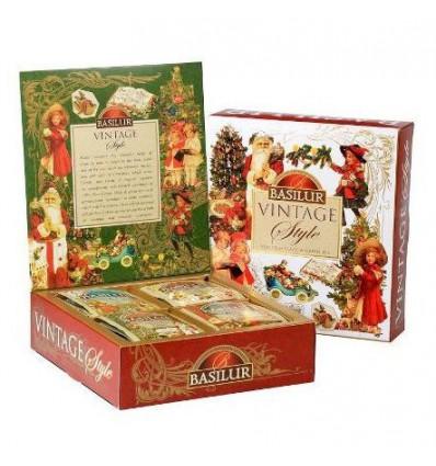 Herbata świąteczna, vintage, Basilur, 40 szt