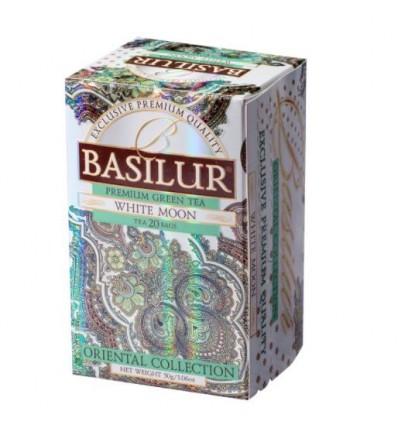 Herbata zielona Oolong White moon ekspresowa 20 szt - Basilur