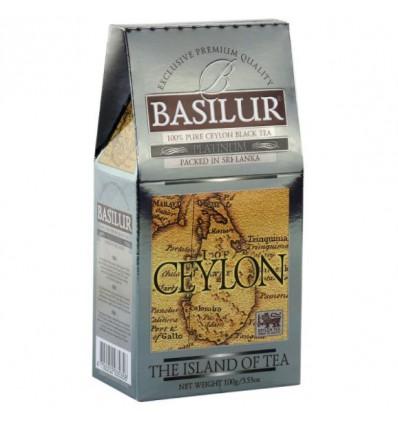 Herbata czarna Platinum - Basilur, stożek 100 g