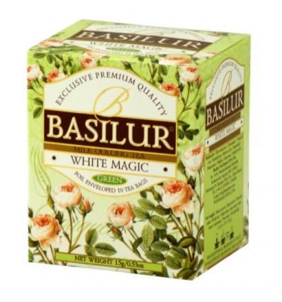 Herbata zielona oolong White magic saszetki 10 szt - Basilur