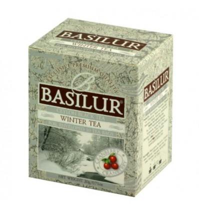 Herbata czarna zimowa, żurawina expresowa 10 szt - Basilur