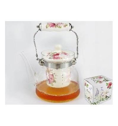 Zaparzacz do Herbaty Szklany - 900 ml