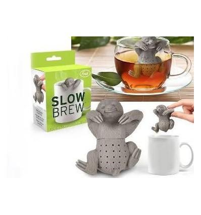 Zaparzacz do herbaty, ziół- różowy słonik