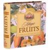 Herbata czarna owocowa ekspresowa, zestaw 32 szt - książka Basilur , puszka