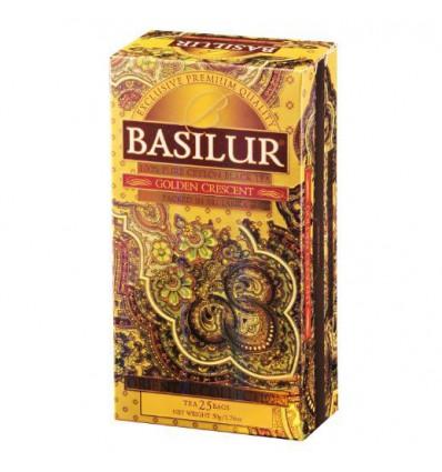 Herbata czarna Golden Crescent - Basilur, 25 saszetek