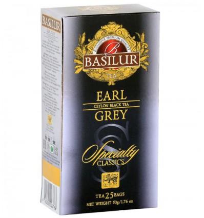 Herbata czarna Earl Grey - Basilur, 25 saszetek