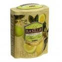 Herbata czarna cytryna, limonka, Basilur, puszka 100 g