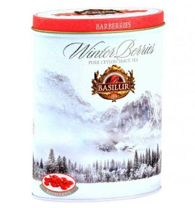 Herbata czarna Cranberries żurawina Basilur puszka 100 g NOWOŚĆ