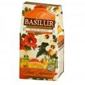 Napar owocowy, susz Blood Orange, pomarańcza, róża, jabłko, Basilur, stożek 100 g