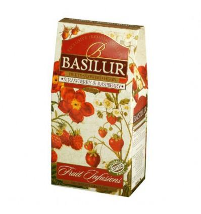 Napar owocowy, susz Red Hot Ginger, imbir, jabłko, róża, papaja Basilur, stożek 100 g