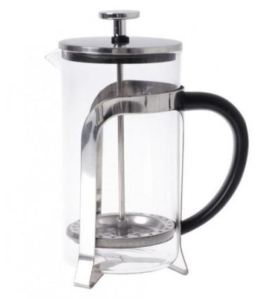 Tłokowy zaparzacz do herbaty, kawy, french press 350 ml - czarny