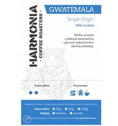 Kawa Gwatemala Single Origin 100 % arabika- ziarno 250 g