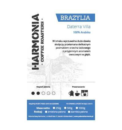 Kawa Brazylia Yellow Bourbon- 100 % arabika ziarno 250 g