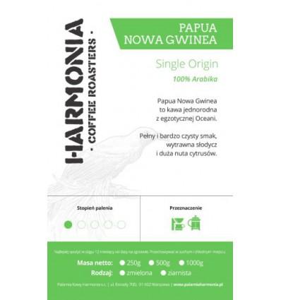 Kawa Papua Nowa Gwinea Single origin 100 % arabika- mielona, 250 g