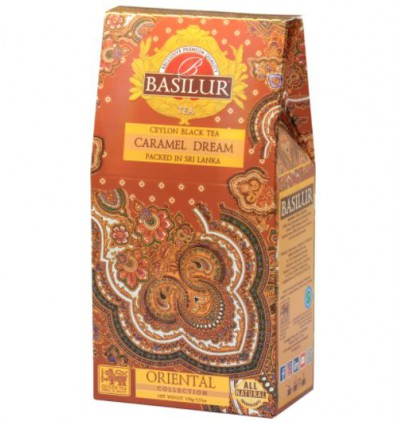 Herbata czarna truskawka, kiwi - Basilur, 10 szt