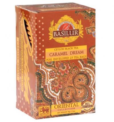 Herbata czarna Caramel dream, karmelowa - Basilur, 100 g