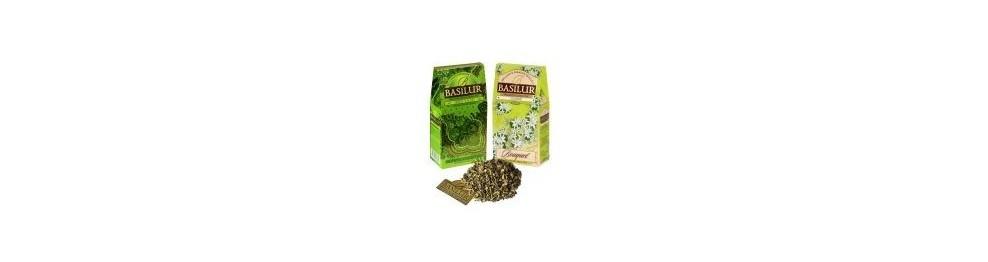 Herbaty Basilur zielone